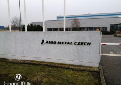 Oplocení firmy DIADO METAL CZECH, Brno